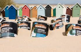 Superdec Colour Chart Model Beach Hut Village Takes Centre Stage Sadolin