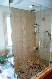 bathroom tile shower ideas. Bathroom Shower Ideas Two Chrome Metal Wall Towel Hanging Sophistication Glass Sliding Doors Agranite Framed Small Tile