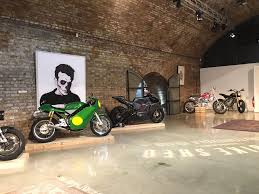 My dope motorcycle garage