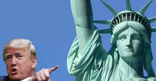 Image result for president trump lady liberty image
