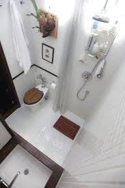 design small space solutions bathroom ideas. This Does It All In A Very Small Space Indeed. Shower Curtain Allows For Elbow Room On The Loo. | House Reno Ideas Pinterest Home Renovation, Design Solutions Bathroom