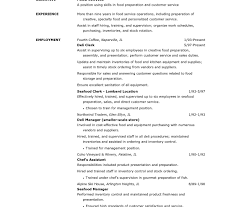 Beautiful Resume Format Sample For Fast Food Crew Gallery Resume