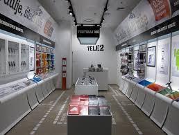 Tele2 store concept by Brigada