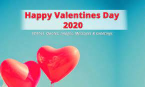 happy valentines day 2020 wishes