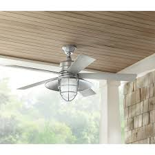 home ideas weird galvanized ceiling fan home decorators collection grayton 54 in led indoor outdoor