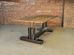 vintage and industrial furniture. Post Industrial Dining Table 2a Vintage And Furniture
