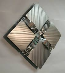 stainless steel wall art metal art contemporary stainless steel metal wall art sculpture 15s stainless steel