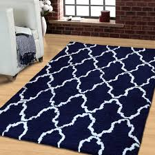 navy blue and white area rugs. fine rugs superior trellis handwoven navy bluewhite area rug intended blue and white rugs wayfair