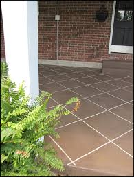 Cover concrete patio ideas View Along Fake Concrete Patio Cover Up With Stain The Garden Glove Diy Concrete Patio Cover Up Ideas The Garden Glove