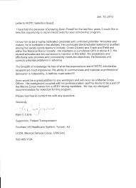 Army Letter Of Recommendation Template