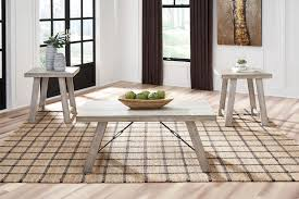 Carynhurst - Whitewash - Occasional Table Set