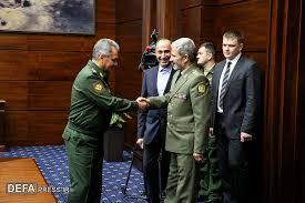 Image result for وزیر دفاع ایران در حاشیه کنفرانس امنیتی مسکو