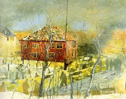 peter doig red house 1995 1996 photo courtesy of phillips