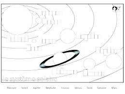 Planets Coloring Pages Solar System Page Planet Sheets