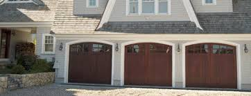 wooden garage doorsSignature Carriage  wood garage doors