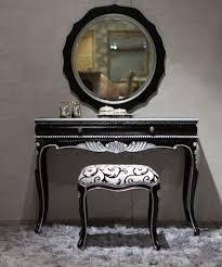 black bedroom vanities. 10 Bedroom Vanities In Modern Black Shade K