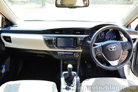 2014 Toyota Corolla Altis Diesel Review interiors - Indian Autos blog