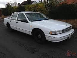 All Chevy 96 chevrolet caprice : CHEVROLET CAPRICE CLASSIC V8 LHD impala buick oldsmobile crown ...