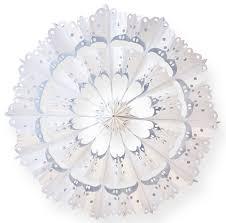 Butterbrottüten Blüten Bastelset 24 St 10x22cm Weiß