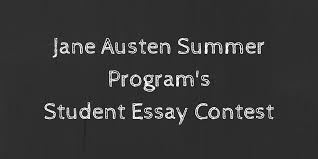 announcing our student essay contest acirc jane austen summer program do you know a student in grades 6 through 12 who is going to see playmakers repertory company s production of ldquosense and sensibilityrdquo