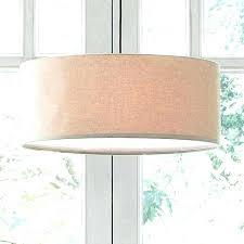linen drum shade chandelier pendant best of co white