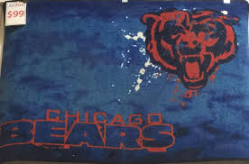 chicago bears rug medium