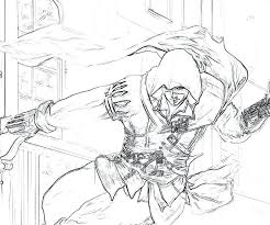 Best Of Assassins Creed Coloring Pages Or Drawing Assassin S Creed