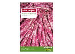 dwarf borlotti bean seeds