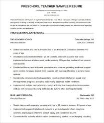 Teacher Resume Templates Microsoft Word 2007 Commily Com