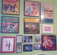 disney office decor. for my disney gallery wall i need more records tho office decor