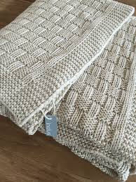 How To Knit A Rug Indus Natural Hand Knit Throw Rug Lovely Linen