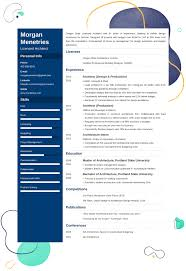 Resume Examples Architect Architecture Resume Examples Sample Guide And 25 Writing Tips