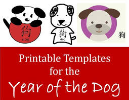 Printable Stencils For Kids Printable Dog Templates Kid Crafts For Chinese New Year Holidappy