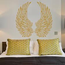 decorative angel wings wall sticker