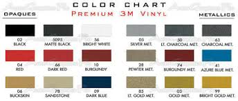 3m Stripe Chart Midway 2014 2018 Gmc Sierra Graphics Decals Accents