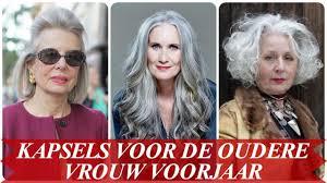 Moderne Kapsels Voor De Oudere Vrouw Voorjaar 2018