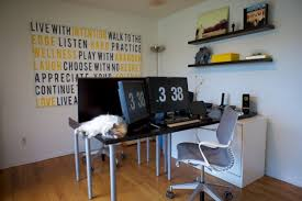 office ikea. a husband and wife that both work from home came up with solution for their shared office space via ikeahackersnet ikea