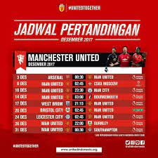 1,799 likes · 142 talking about this. Jadwal Pertandingan Manchester United Desember 2017