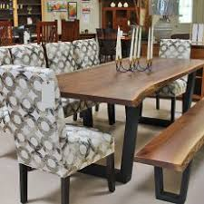 strikingly ideas real wood dining room sets the amish balderson estate live edge table jpg