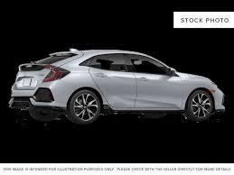 2018 honda hatchback. perfect hatchback silverlunar silver metallic 2018 honda civic hatchback right rear corner  photo in edmonton in honda hatchback