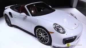 porsche 911 turbo black interior. 2017 porsche 911 turbo s convertible exterior interior walkaround 2016 detroit auto show youtube black