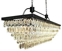 crystal drop chandelier rectangular glass drop crystal chandelier black pertaining to popular house glass drop chandelier