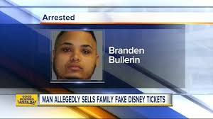 Selling Arrested Florida Youtube Man Fake Family For Tickets Disney tzH5SUwqnH