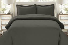 com hc collection 1500 thread count egyptian quality duvet cover set full queen size 3pc luxury soft queen gray home kitchen