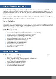 architect resume format architects resume template 066