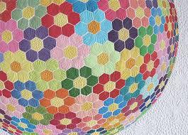 Modern Grandmothers Flower Garden Applique Quilt Pattern & modern grandmothers flower garden applique quilt pattern ... Adamdwight.com