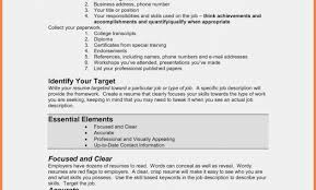 Five Easy Rules Of How To Type Resume For Resume Information