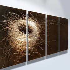 popular metal wall art panels