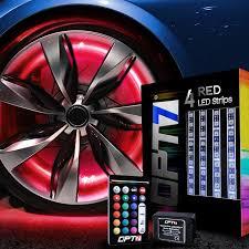Wheel Light Kit Opt7 All Color Wheel Well Led Light Kit 4pc Custom Accent