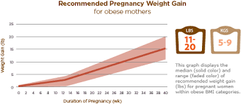 Pregnancy Weight Chart Healthy Weight Gain During Pregnancy